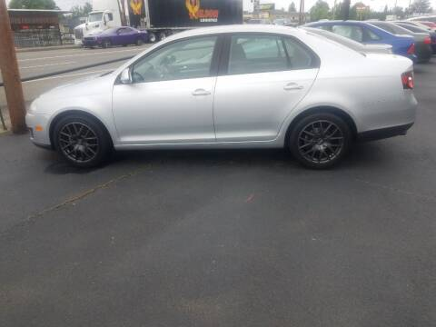 2009 Volkswagen Jetta for sale at Bonney Lake Used Cars in Puyallup WA