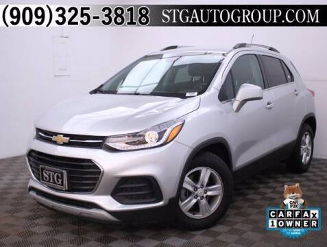 2018 Chevrolet Trax for sale at STG Auto Group in Montclair CA