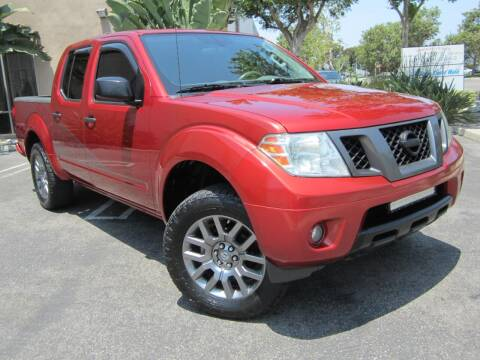 2012 Nissan Frontier for sale at ORANGE COUNTY AUTO WHOLESALE in Irvine CA