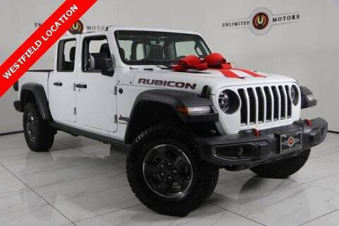 2020 Jeep Gladiator for sale at INDY'S UNLIMITED MOTORS - UNLIMITED MOTORS in Westfield IN