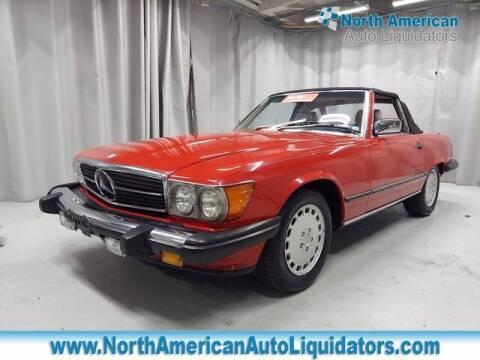 1986 Mercedes-Benz 560-Class for sale at North American Auto Liquidators in Essington PA