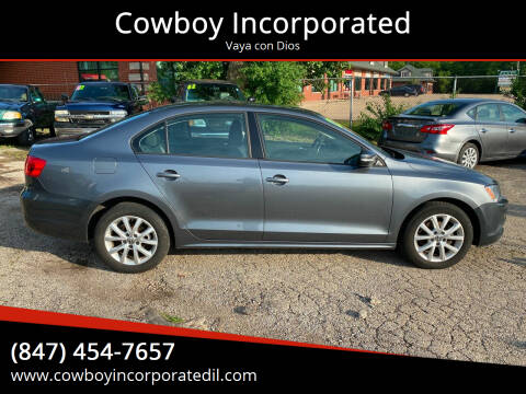 2012 Volkswagen Jetta for sale at Cowboy Incorporated in Waukegan IL