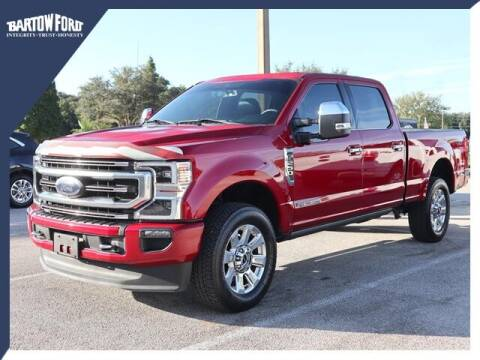 2020 Ford F-250 Super Duty for sale at BARTOW FORD CO. in Bartow FL