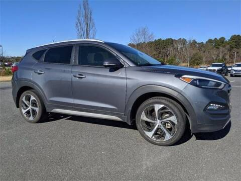 2017 Hyundai Tucson for sale at CU Carfinders in Norcross GA