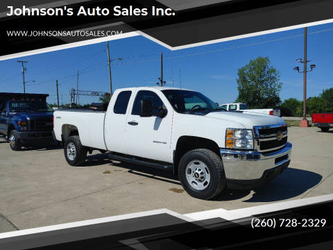 2013 Chevrolet Silverado 2500HD for sale at Johnson's Auto Sales Inc. in Decatur IN