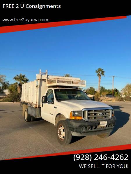 2001 Ford F-550 Super Duty for sale at FREE 2 U Consignments in Yuma AZ