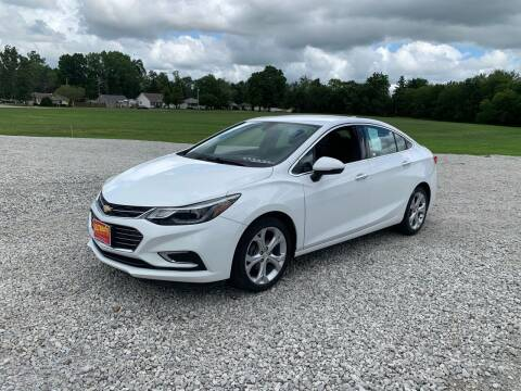 2017 Chevrolet Cruze for sale at Ultimate Auto Sales in Crown Point IN