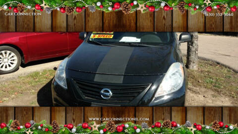 2012 Nissan Versa for sale at Car Connection in Yorkville IL
