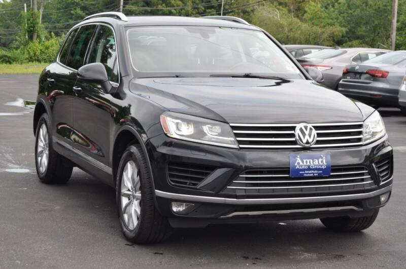 2015 Volkswagen Touareg for sale at Amati Auto Group in Hooksett NH