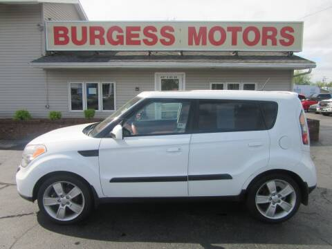 2010 Kia Soul for sale at Burgess Motors Inc in Michigan City IN