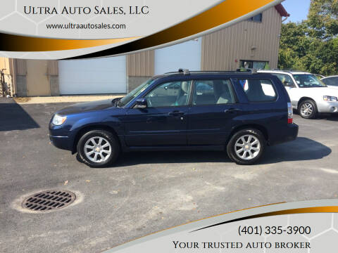 2006 Subaru Forester for sale at Ultra Auto Sales, LLC in Cumberland RI