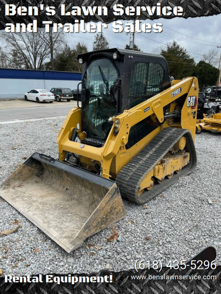 Caterpillar 239D3 Track Skid Steer for sale at Ben's Lawn Service and Trailer Sales in Benton IL