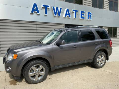 2012 Ford Escape for sale at Atwater Ford Inc in Atwater MN
