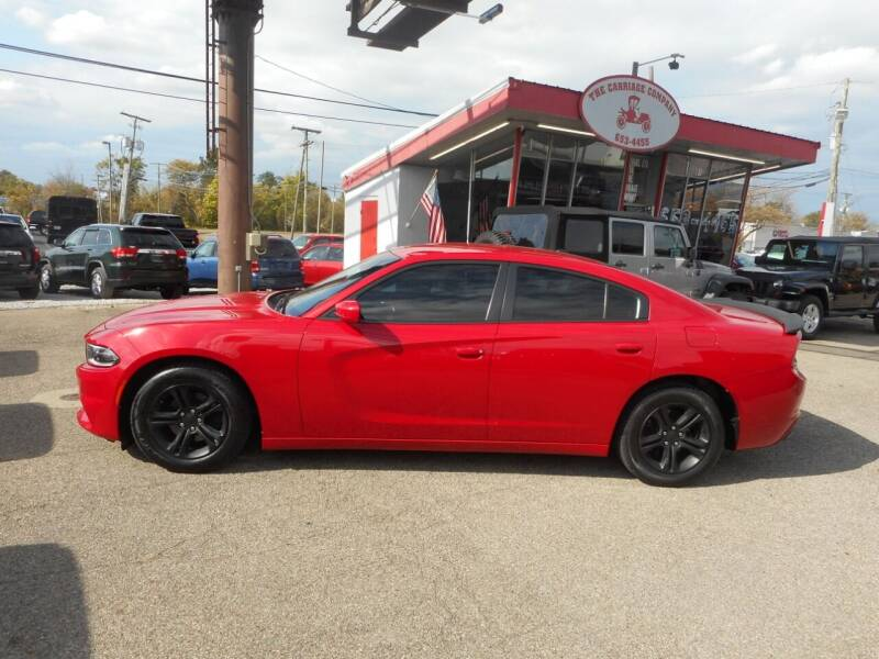 2016 Dodge Charger for sale at The Carriage Company in Lancaster OH