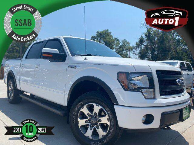 2014 Ford F-150 for sale at Street Smart Auto Brokers in Colorado Springs CO