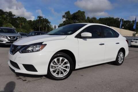 2019 Nissan Sentra for sale at OCEAN AUTO SALES in Miami FL