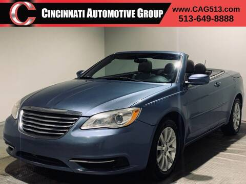 2011 Chrysler 200 Convertible for sale at Cincinnati Automotive Group in Lebanon OH