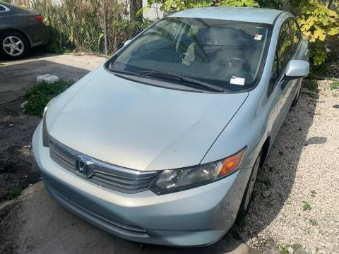 2012 Honda Civic for sale at Eden Cars Inc in Hollywood FL