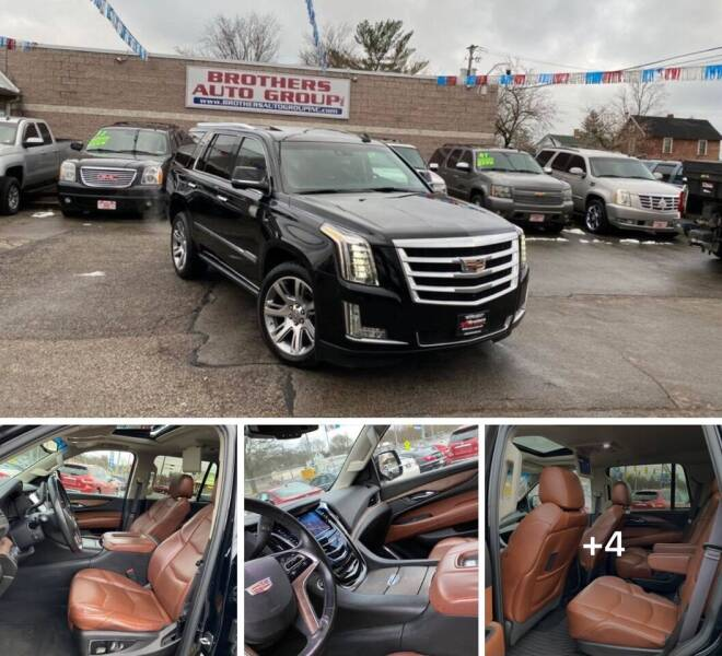 2015 Cadillac Escalade for sale at Brothers Auto Group in Youngstown OH