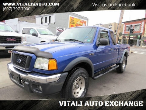 2004 Ford Ranger for sale at VITALI AUTO EXCHANGE in Johnson City NY
