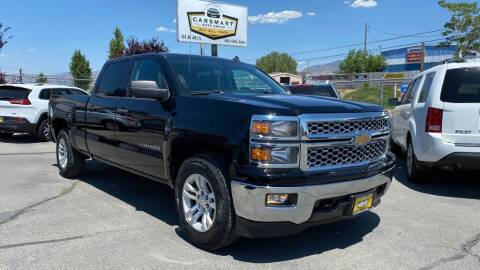 2014 Chevrolet Silverado 1500 for sale at CarSmart Auto Group in Murray UT