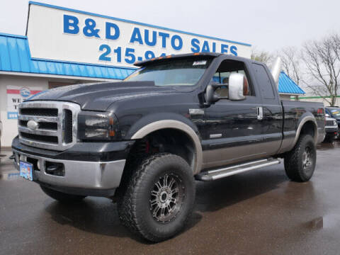 2006 Ford F-350 Super Duty for sale at B & D Auto Sales Inc. in Fairless Hills PA