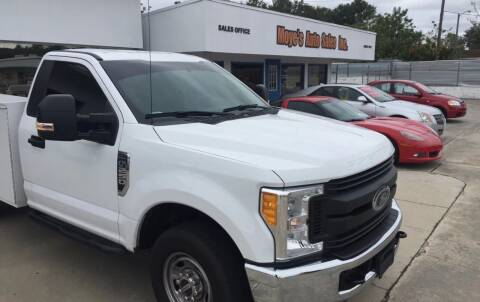 2017 Ford F-250 Super Duty for sale at Moye's Auto Sales Inc. in Leesburg FL