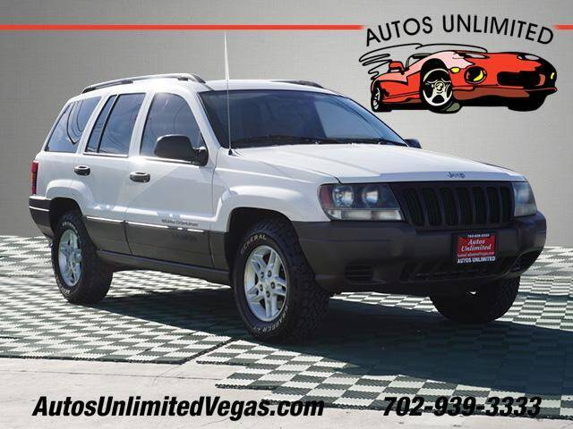 2003 Jeep Grand Cherokee for sale at Autos Unlimited in Las Vegas NV