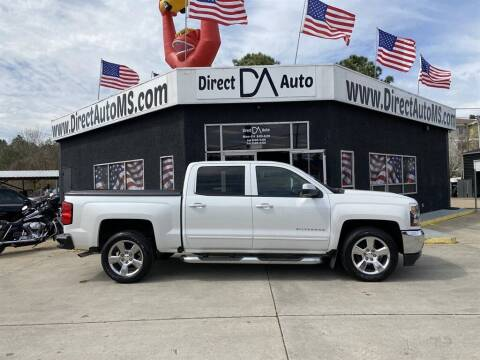 2017 Chevrolet Silverado 1500 for sale at Direct Auto in D'Iberville MS