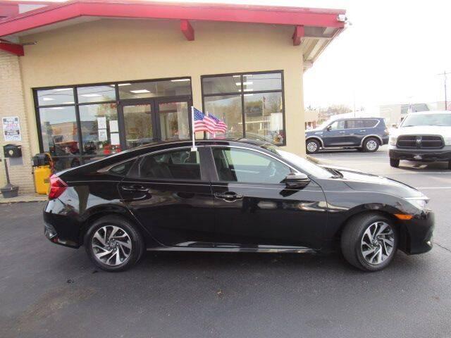 2016 Honda Civic for sale at Cardinal Motors in Fairfield OH