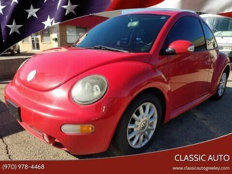 2004 Volkswagen New Beetle for sale at Classic Auto in Greeley CO