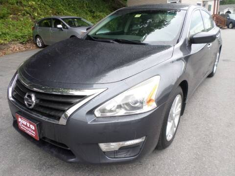 2013 Nissan Altima for sale at AUTO CONNECTION LLC in Springfield VT