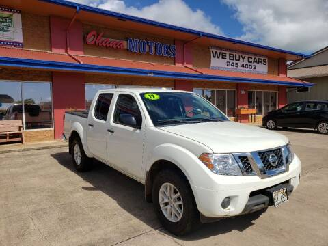 2017 Nissan Frontier for sale at Ohana Motors in Lihue HI