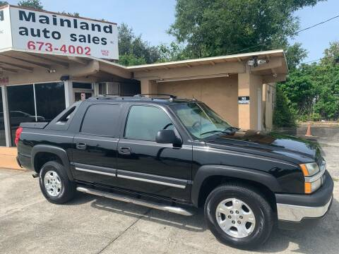 2004 Chevrolet Avalanche for sale at Mainland Auto Sales Inc in Daytona Beach FL