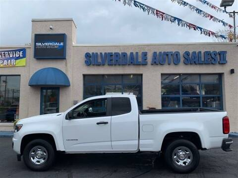 2015 Chevrolet Colorado for sale at Silverdale Auto Sales II in Sellersville PA