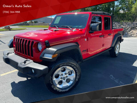 2020 Jeep Gladiator for sale at Omar's Auto Sales in Martinez GA