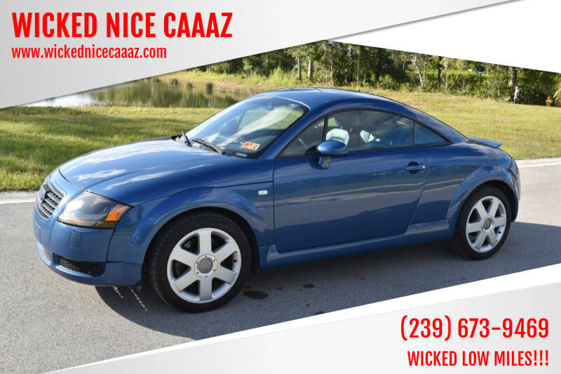 2000 Audi TT for sale at WICKED NICE CAAAZ in Cape Coral FL
