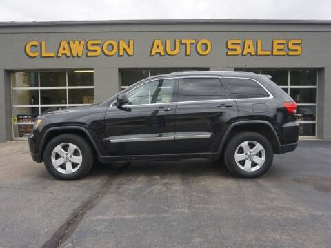 2012 Jeep Grand Cherokee for sale at Clawson Auto Sales in Clawson MI