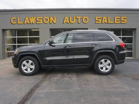 2012 Jeep Grand Cherokee for sale at Clawson Auto Sales in Clawson MI