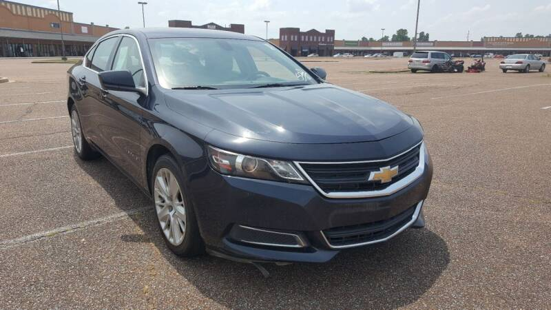 2015 Chevrolet Impala for sale at The Auto Toy Store in Robinsonville MS