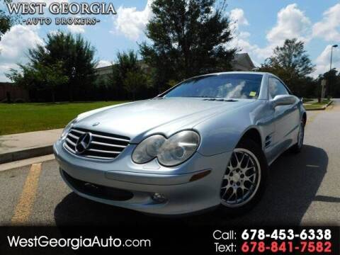 2005 Mercedes-Benz SL-Class for sale at West Georgia Auto Brokers in Douglasville GA