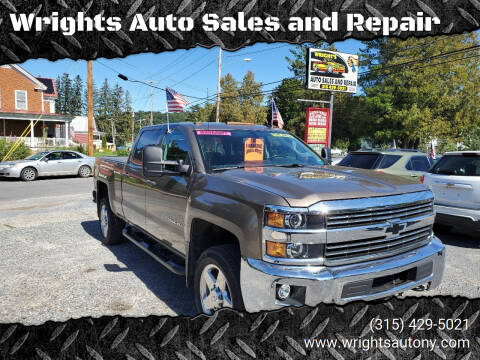 2015 Chevrolet Silverado 2500HD for sale at Wrights Auto Sales and Repair in Dolgeville NY