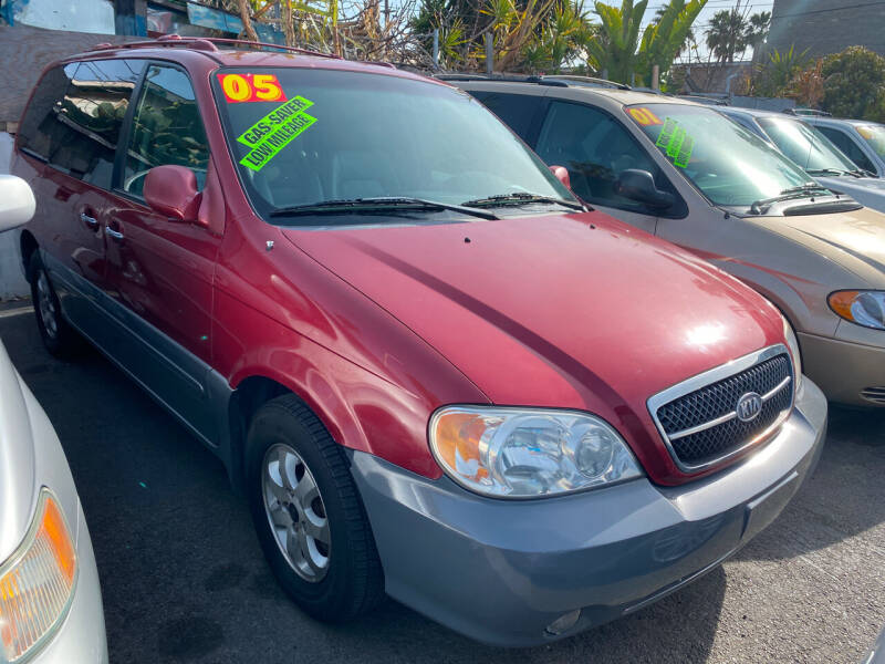 2005 Kia Sedona for sale at North County Auto in Oceanside CA