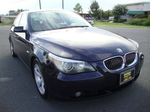 2007 BMW 5 Series for sale at Shell Motors in Chantilly VA