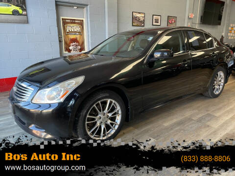 2008 Infiniti G35 for sale at Bos Auto Inc in Quincy MA