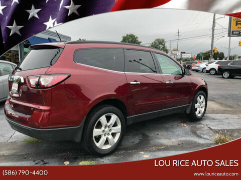 2017 Chevrolet Traverse for sale at Lou Rice Auto Sales in Clinton Township MI