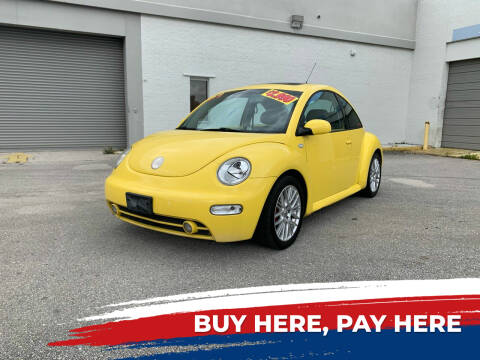 2002 Volkswagen New Beetle for sale at Mid City Motors Auto Sales - Mid City South in Fort Myers FL
