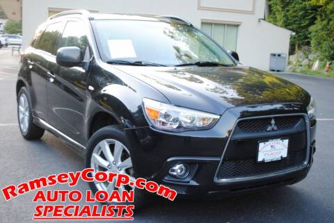 2012 Mitsubishi Outlander Sport for sale at Ramsey Corp. in West Milford NJ