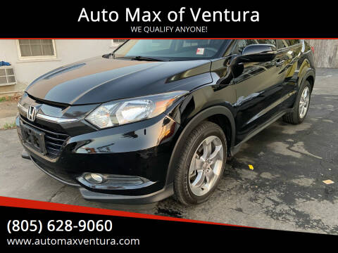 2016 Honda HR-V for sale at Auto Max of Ventura - Automax 3 in Ventura CA