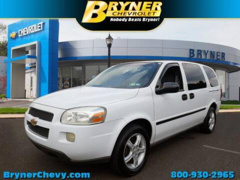 2005 Chevrolet Uplander for sale at BRYNER CHEVROLET in Jenkintown PA